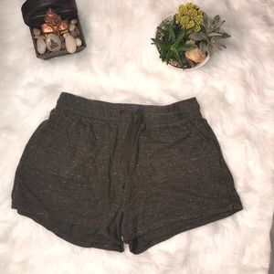 Olive Green Athletic Works Shorts